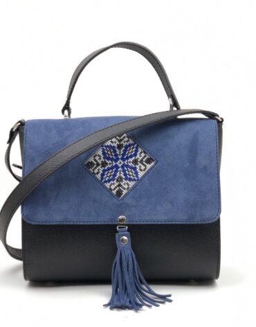 prezentare geanta cu romb