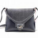 model geanta din piele cu imprimeu