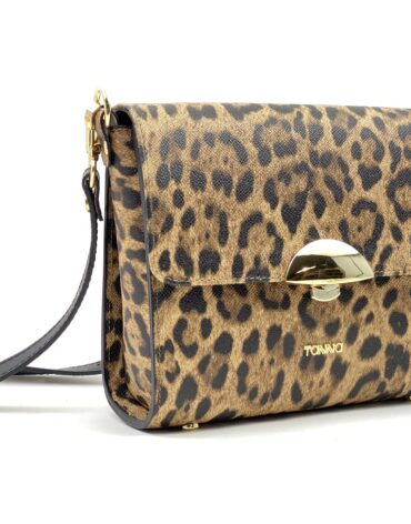 geanta culoare leopard