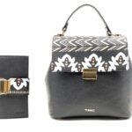 geanta si portofel tribal