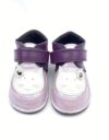 Ghete din piele naturala barefoot Kinder mov-lila Pisica